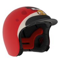 Angry Birds red with suncap